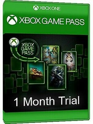 Xbox GAME PASS 1-Month Trial Membership Code