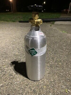 15 LB  ALUMINUM CO2 Cylinder Tank Reconditioned - Fresh