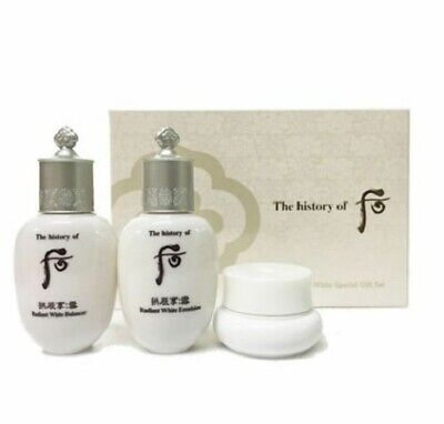 The History of Whoo Gongjinhyang Seol Radiant White 3pcs Special Gift Kit