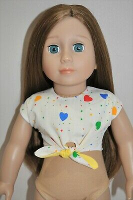 18 Inch Doll Clothes fit American Girl Dolls Our Generation Reversible Top