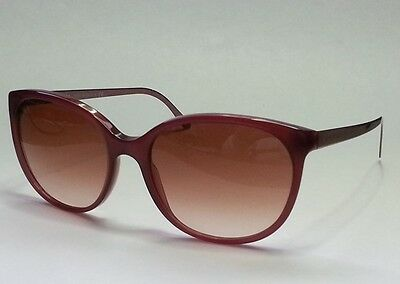 BURBERRY women's sunglasses B 4146 cat eye style metal side bars Made in Italy