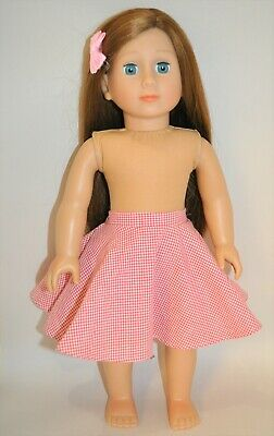 18 Inch Dolls Clothes to fit American Girl Doll Our Generation Full Circle Skirt