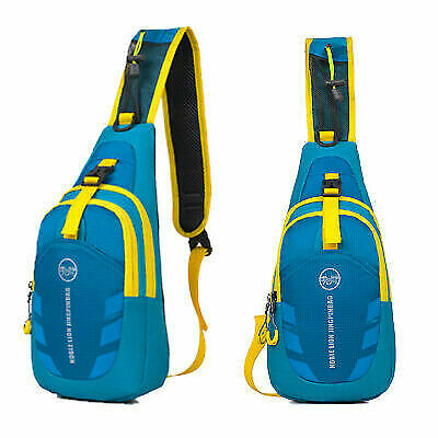 Unisex Chest Bag Shoulder Sling Backpack Crossbody Pouch Outdoor Travel Hiking