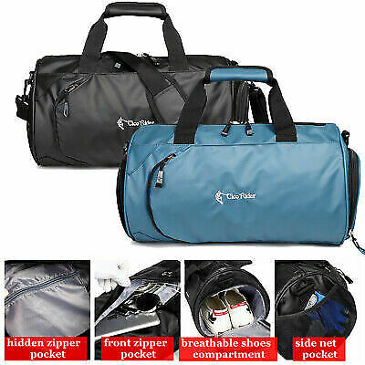 Waterproof Nylon Duffle Tote Bag Gym Carry On Mens Travel Overnight Luggage Bag