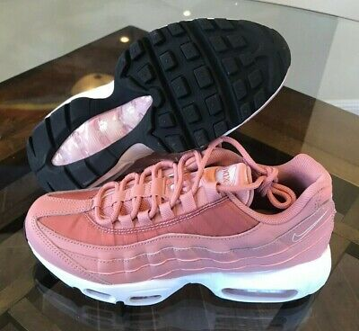 d8286f8cce Nike Women's Air Max 95 Rust Pink Particle Rose Beige 307960-606 Size 7
