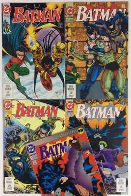 Batman #488 to #492 (DC 1993) 5 x issues.