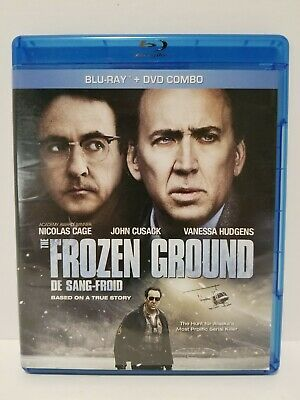 The Frozen Ground: Blu-ray / DVD movie - Canadian - 2 disc - tested + Warranty