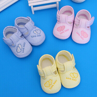Baby soft sole crib toddler shoes sneaker anti-slip casual shoes  EW