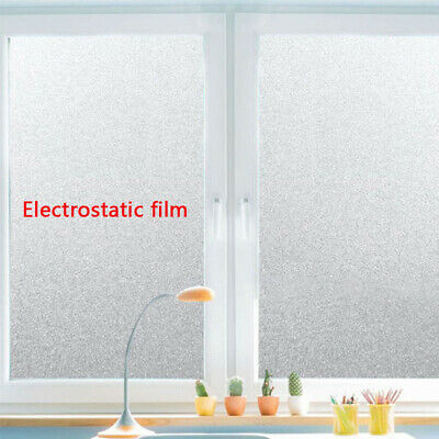 2m Frosted Window Film Frost Privacy Glass Self Adhesive Vinyl 61cm