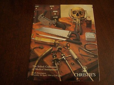 Christies The Staheli Collection of Medical Instruments 1994  17/175
