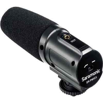 Saramonic SR-PMIC3 3-Capsule Recording Microphone with Integrated Shockmount ...
