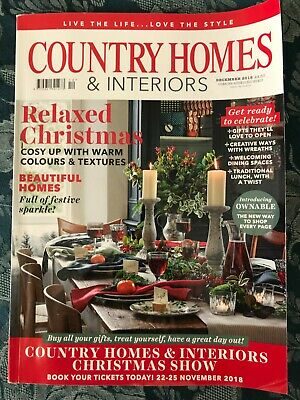 Country Homes & Interiors Magazine December 2018