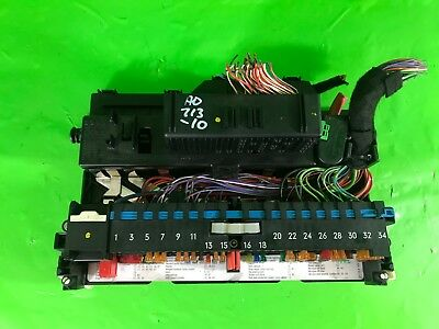 BMW 3 SERIES E46 INTERIOR POWER DISTRIBUTION FUSE BOX 3.0 DIESEL 330d 1999-2005