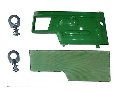New RIGHT Side Panel & SCREEN AM128982 M116020 Fits John Deere 415 425 445 455