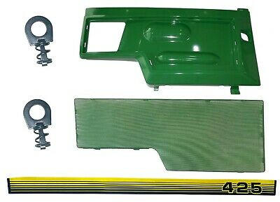 RH Side Panel/Screen/Sticker SET AM128982 M116020  Fits John Deere 425 LOW SN