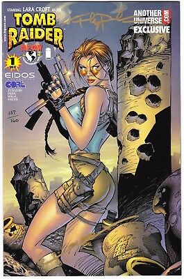 Tomb Raider #1 - Another Universe Variant - Signed By Andy Park & Jon Sibal