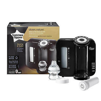 Tommee Tippee Perfect Prep Machine Closer to Nature Baby Milk Black or White