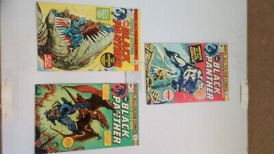 Marvel The Black PANTHER 13 14 15 Bronze Age