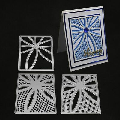 Hollow Rectangle Cutting Dies Stencil Scrapbooking Album Paper Card DIY Crafts