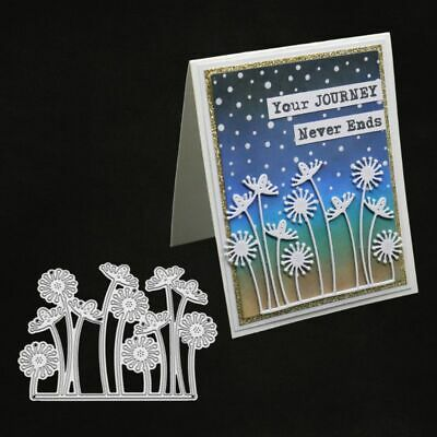 Dandelion Metal Cutting Dies Stencil Scrapbooking Paper Card Embossing DIY Craft