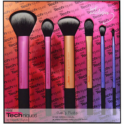 3PCS 6PCS Real Techniques Sam's Picks Makeup Brushes Powder Blush Foundation Set