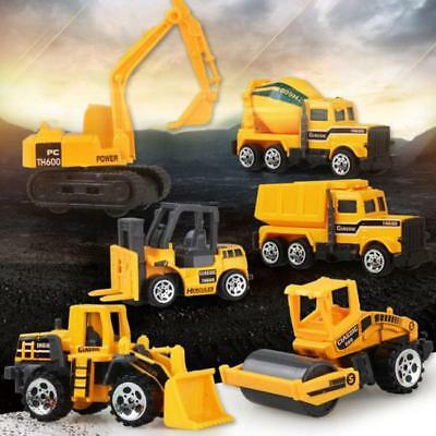 Mini Alloy Plastic Engineering Car Tractor Toy Dump Truck Model Toy Cars RE