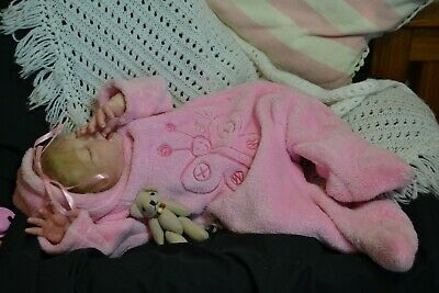 Cute Reborn Baby GIRL Doll EMMA was Sofie by Denise Pratt COMPLETED