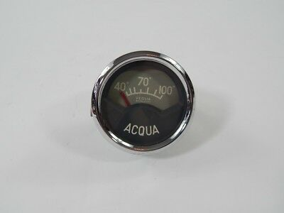 Original  Ferrari 166 Veglia Borletti Acqua Water Temperature Gauge 212 375 250