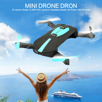 Hot Selfie Drone 720P HD Camera 2.4G Wifi FPV RC Quadcopter Helicopter Toy Black