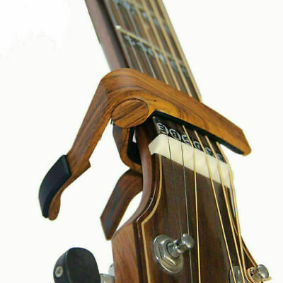 Guitar Capo Quick Change 6-String Acoustic Guitar Accessories Trigger Key Clamp