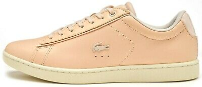 96a774331f93 Lacoste Carnaby EVO 417 1 SPW Women Trainers in Pink 734SPW0013 15J UK 6