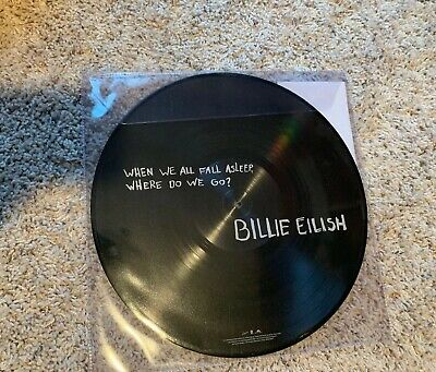 Billie Eilish When We All Fall Asleep, Where Do We Go Vinyl Picture Spotify UK