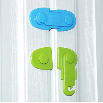 Toddler Baby Kids Safety Lock Proof Cabinet Drawer Fridge Cupboard Door RE