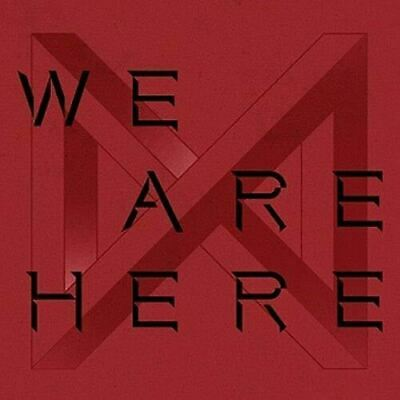 MONSTA X WE ARE HERE 2nd Album TAKE.2 RANDOM CD+Photo Book+2p Photo Card +1ea Pr