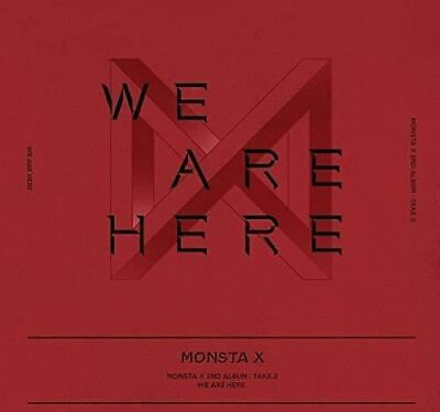Monsta X - The 2nd Album TAKE.2 WE are HERE [ III Ver. ] / Pack of CD, Photobook