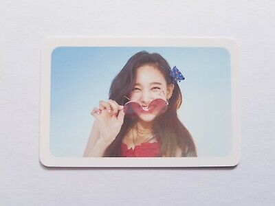 "K-Pop Twice Summer Pop-Up ""Dance The Night"" Official Limited Nayeon Photocard"