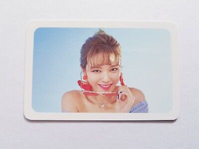 "K-Pop Twice Summer Pop-Up ""Dance The Night"" Official Limited Jungyeon Photocard"