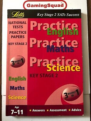 KS2 Practice Papers, English, Maths & Science PB Book, Supplied by Gaming Squad