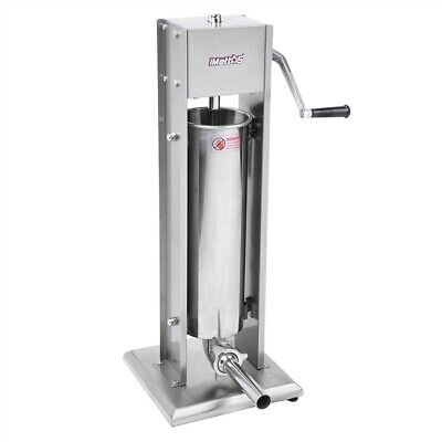 Commercial Sausage Stuffer 7L Stainless Meat Imettos 801003
