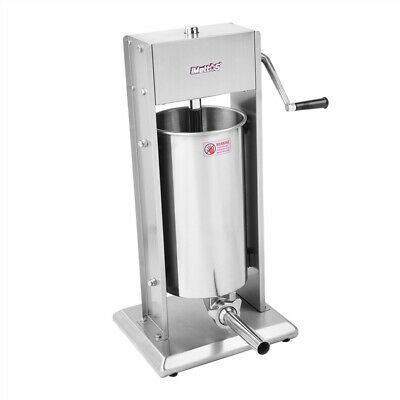 Commercial Sausage Stuffer 15L Stainless Meat Imettos 801006
