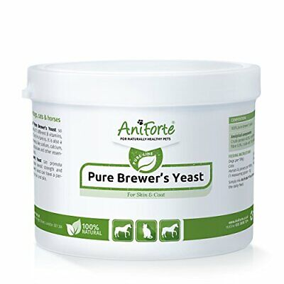 AniForte Pure Brewers Yeast 250g Vitamin B, E  H for Cats, Horses  Dogs  For