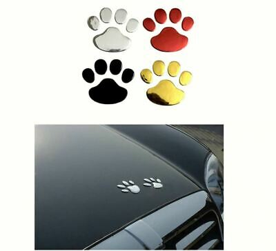 Patte d'animal chat chien autocollant voiture animal paw car sticker Tierpfote