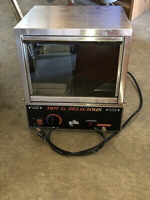 STAR Commercial Hot Dog Steamer Warmer Countertop WORKS! Concessions