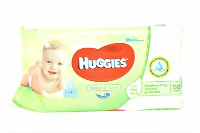 Huggies Natural Care Baby Wipes with Aloe Vera, 56 ct.