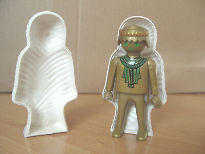 Playmobil 100% Complete Special 4531 Gold Mummy in White Sarcophagus