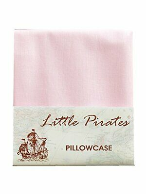Brand New Pink Baby Cot Bed Pillow Case 60 x 40 - 100 Luxury Brushed Cotton