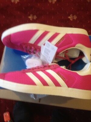 Adidas Gazelle trainers size 9 Originals New in Box Pink  ( 1 pair only in 9 )
