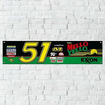 Mello Yello Banner Garage Workshop PVC Sign Days of Thunder NASCAR Track Display