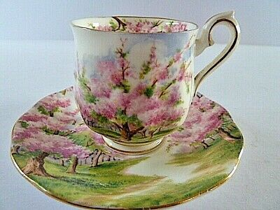 Royal Albert Blossom Time Coffee Cup Saucer