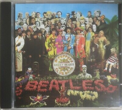 BEATLES - SGT PEPPER'S LONELY HEARTS CLUB BAND - CD (1987) No Barcode - VGC